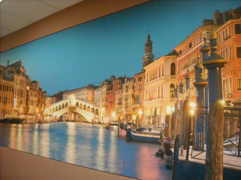 Full wall Image Acoustic panel